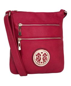 Love this Red Roneeda Crossbody Bag by MKF Collection on #zulily! #zulilyfinds