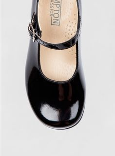 70a0e19ac07 Hampton Classics Kate School Shoes in Black Patent