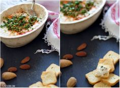 Hummus de amêndoa