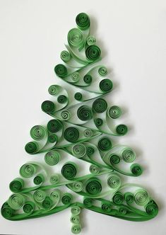 This piece is Christmas Tree made by technique Quilling. I am using color cardboard strips 10 mm ( 3.94 inc) wide and glue. The base is white - size is classical format A4. This piece is unframed, but if you wish we can comment this option. Just contact with me. I hope You will