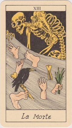 The Osborne Tarot Collection | Nuovo Tarocco Ligure Piemontese - Death