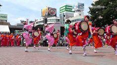 伝統さんさ踊り競演会 ミスさんさ踊り・さんさ太鼓連 4