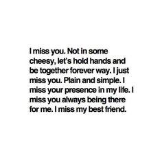 missing my best friend #lovehersomuch
