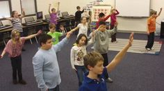 Fourth Grade Nutcracker Choreography - Spanish Dance. Fourth graders created their own choreography for some of the dances from Act II of Tc...