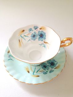 Vintage Royal Albert Footed Tea Cup and Saucer use,