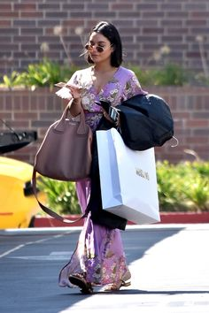 Vanessa Hudgens leaving Moschino in Beverly Hills - September 6th