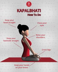 (Skull Purification) is a type of breathing exercise that helps you get rid of various ailments over a period of time. Pranayama, Bob Marley, Yoga For Stress Relief, Learn Yoga, Namaste Yoga, Yoga For Kids, Yoga Tips, Yoga Routine, Yoga Benefits