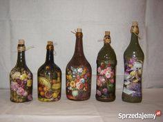 decoupage  | butelki decoupage- prezent - Sprzedajemy.pl