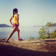 #running #workhardplayhard #odmorabez #seaside #mediterranean by cirkumpuktica #running #ownyourmarks #run