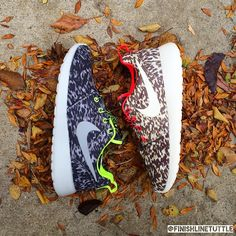 Go print crazy this fall. PC: Finish Line Tuttle