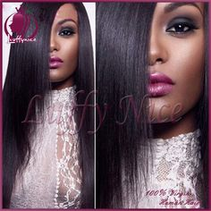 Find More Human Wigs Information about Silky Straight Full Lace Human Hair Wigs for Black Women Peruvian Virgin upart Human Hair Lace Front Wig Glueless Full Lace Wigs,High Quality hair line wigs,China hair piece wig Suppliers, Cheap hair wigs women from luffy nice hair store on Aliexpress.com
