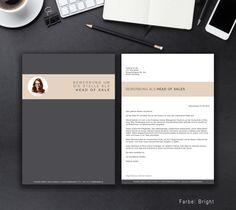 """Unsere Bewerbungsvorlage """"Identity Classic"""" in der Farbe Bright. Mit der stylischen Vorlage """"Identity Classic"""" wecken Sie zu 100 Prozent die Neugier aller Personaler. Sie erhalten von uns ein Deckblatt, Anschreiben, Lebenslauf, Motivationsschreiben und eine Abschlussseite. Die Datei bekommen Sie als fertige Pages- oder Word-Datei inklusive Platzhaltertext mit Hinweisen."""