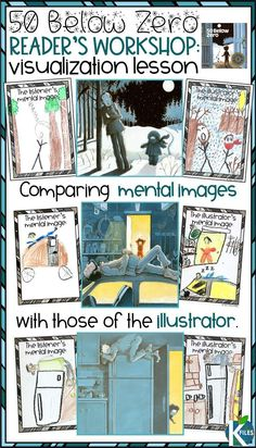 Are you looking for powerful visualizing activities to help your students create mental images during your Reader's Workshop? This humorous winter read aloud is perfect for visualizing details in a text. Your students will build their visualization readi First Grade Activities, Reading Activities, Guided Reading, Holiday Activities, Reading Lessons, Shared Reading, Library Lessons, Reading Time, Group Activities
