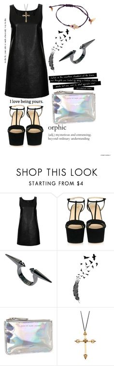 """From Lust To Truth"" by leatherandice ❤ liked on Polyvore featuring Topshop, Giuseppe Zanotti, Wildfox, Marc by Marc Jacobs, Rachel Entwistle and Rachel Rachel Roy"
