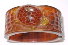 Look at the turtle on this bangle. Bakelite Museum