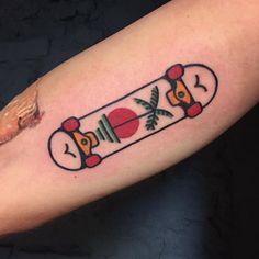 disney tattoo ideas for women ~ disney tattoo ideen für frauen ~ Body Art Tattoos, Tattoo Drawings, New Tattoos, Girl Tattoos, Sleeve Tattoos, Thrasher, Trendy Tattoos, Small Tattoos, Skater Tattoos