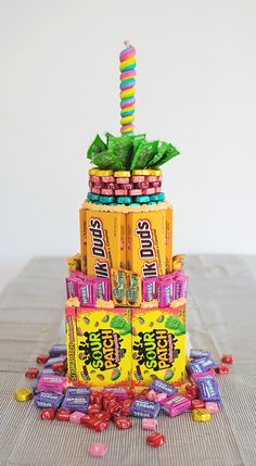 A Candy Cake http://asubtlerevelry.com/a-candy-cake