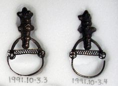 Slavic temple ring, c. 10thC-11thC (early), Poland. © British Museum