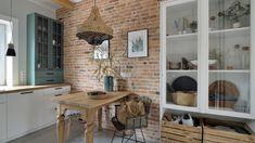 Piękna kuchnia: wnętrza w klasycznym stylu - Galeria - Dobrzemieszkaj.pl Corner Desk, Bali, Bookcase, Shelves, Kitchen, House, Furniture, Design, Home Decor