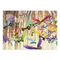 Flock of Winged Keys