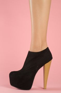 black shoes also available in red