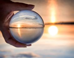 Crystal ball photography. Fun!