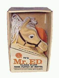 """1962 - My Older Sister had Him, I always thought Creepy.... and I hadn't even seen """"The Godfather"""" yet Vintage Year, Vintage Tv, Vintage Antiques, 1960s Toys, Retro Toys, Talking Horses, Children's Toys, Old Toys, Madame Alexander Dolls"""