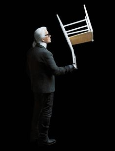 Karl Lagerfeld photographs Cassina