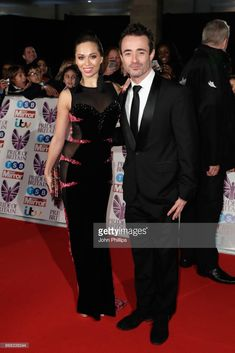 Katya Jones and Joseph McFadden attend the Pride Of Britain Awards at Grosvenor House, on October 30, 2017 in London, England.