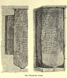 Canute the Great, Laurence Marcellus Larson Viking Runes, Viking Age, World Library, Germanic Tribes, Viking Dress, Rune Stones, Norse Mythology, Medieval Art, Dark Ages