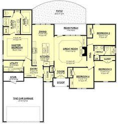 142-1087: Floor Plan Main Level