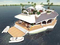 Enjoy Ultimate Luxury on Orsos Island – A Floating Island For Millionaires