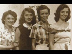 """Mother Maybelle sings lead on an old Carter Family Hymn """"Where Shall I Be"""" Her daughters Helen and Anita along with their mom sing 3 part harmony vocals on t. Titanic Artifacts, June Carter Cash, Johnny And June, Carter Family, Country Musicians, Honky Tonk, Piece Of Music, Famous Singers, American Country"""