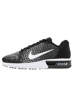 free shipping 2e245 4823a AIR MAX SEQUENT 2 - Laufschuh Neutral - black white dark grey wolf  grey volt   Zalando.de 🛒. Nike Performance.
