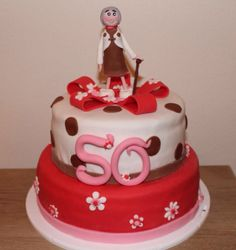 Sarah taart 50 jaar