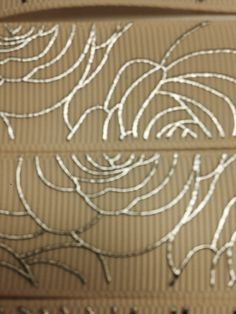 Gorgeously Classic 7/8 22mm  Beige Silver by ribboneriexpress
