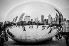 Chicago Downtown Fine Art Photography Urban View The Bean