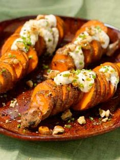Sweet Potato Coins with Creamy Honey Drizzle