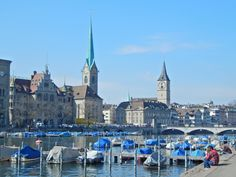 #Zurich_city #Limat_river
