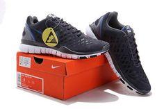 Nike Free TR Fit 2 Mens Dark Grey Blue Running Trainers 209507 804 Nike  Free TR Fit 2 Mens  bb4266db2