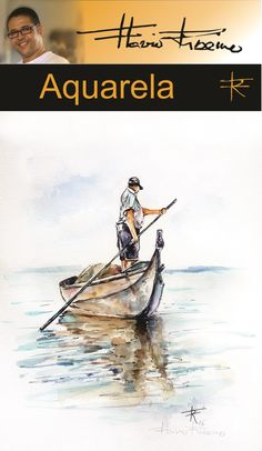 Aquarela de Flávio Ribeiro