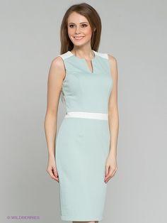 Платье Remix. Цвет серо-зеленый. Категории: Летние платья, Новые поступления, Платья.