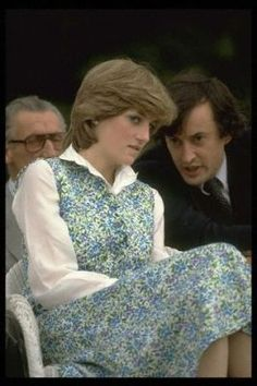 July 25, 1981: Lady Diana Spencer watching her fiancé, Prince Charles play polo at Tidworth.