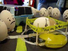 Elentrompe: Escena del crimen