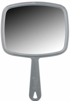 Goody Hand Mirror 27847 (Pack of Inch Colors may vary at Products Lists of Tools and Hardware - large mirror excellent for shaving Cool Things To Buy, Good Things, Home Decor Mirrors, Small Mirrors, Black Mirror, Best Face Products, Decoration, Bad, Dekoration