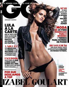 Izabel Goulart May 2013 issue of GQ Brasil
