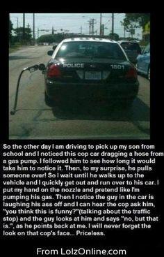 bahahahaha daps law enforcement.