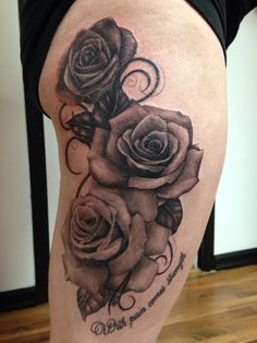 My amazing rose tattoo! Couldn't ask for a better artist :)