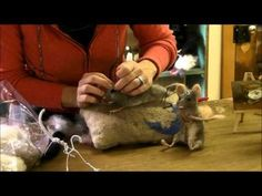 """MOUSE SERIES: #7- FINISHING"" by SARA RENZULI - (SarafinaFiberArt) -- October 9, 2013 -- [8:15 minutes]"