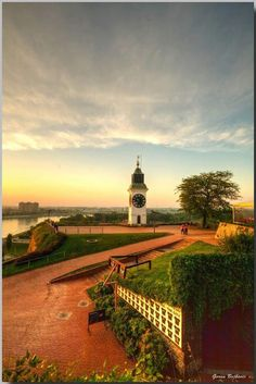 Serbia, Novi Sad. Studied here for a month.